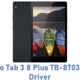 Lenovo Tab 3 8 Plus TB-8703F USB Driver
