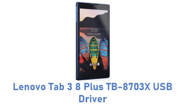 Lenovo Tab 3 8 Plus TB-8703X USB Driver