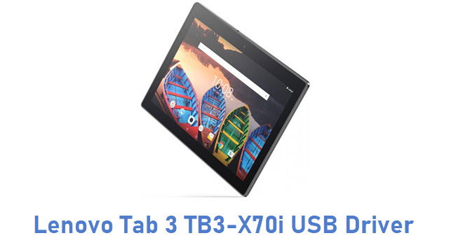 Lenovo Tab 3 TB3-X70i USB Driver