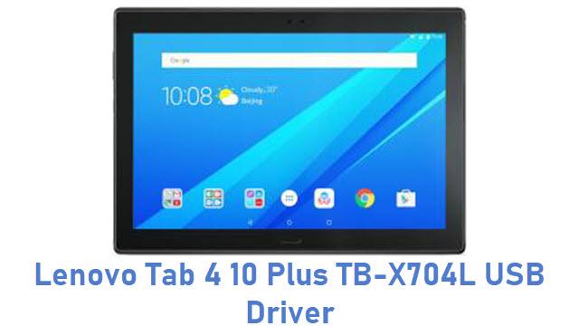 Lenovo Tab 4 10 Plus TB-X704L USB Driver
