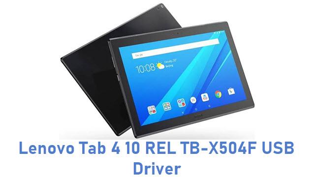 Lenovo Tab 4 10 REL TB-X504F USB Driver