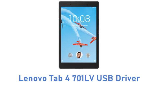 Lenovo Tab 4 701LV USB Driver