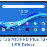 Lenovo Tab M10 FHD Plus TB-X606F USB Driver