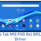 Lenovo Tab M10 FHD Rel 801LV USB Driver