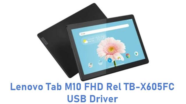 Lenovo Tab M10 FHD Rel TB-X605FC USB Driver