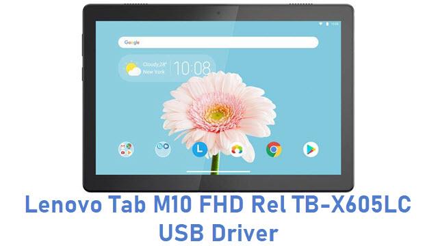 Lenovo Tab M10 FHD Rel TB-X605LC USB Driver