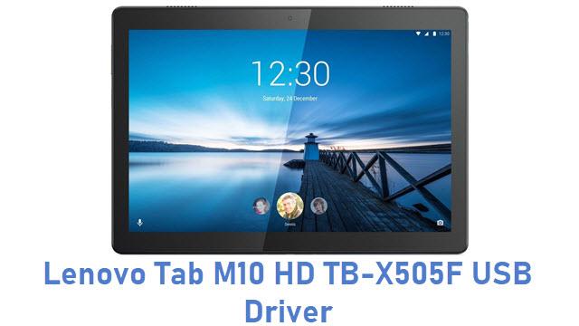 Lenovo Tab M10 HD TB-X505F USB Driver