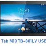 Lenovo Tab M10 TB-801LV USB Driver