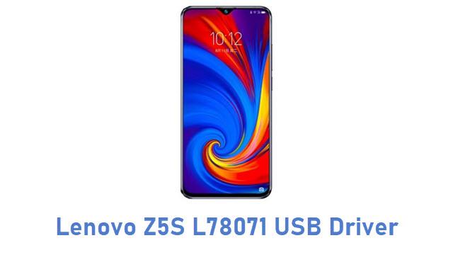 Lenovo Z5S L78071 USB Driver