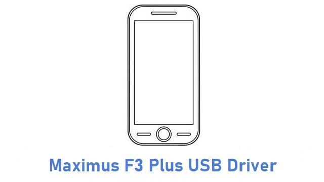 Maximus F3 Plus USB Driver