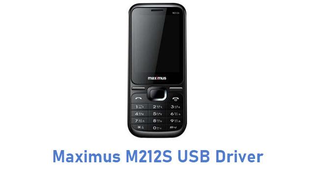 Maximus M212S USB Driver