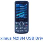 Maximus M218M USB Driver