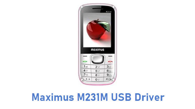 Maximus M231M USB Driver