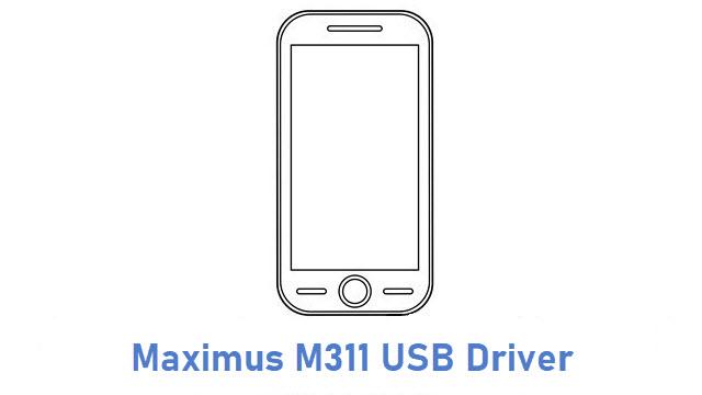 Maximus M311 USB DriverMaximus M311 USB Driver