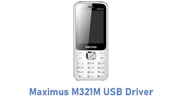 Maximus M321M USB Driver
