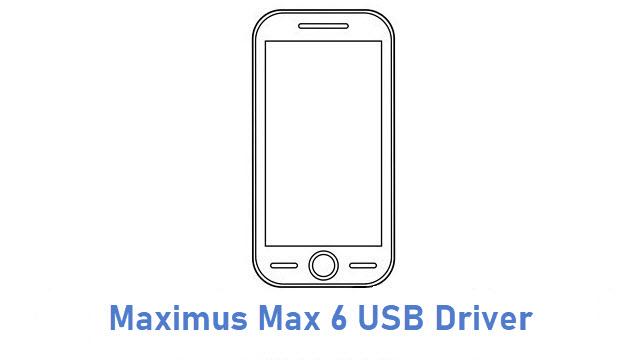 Maximus Max 6 USB Driver