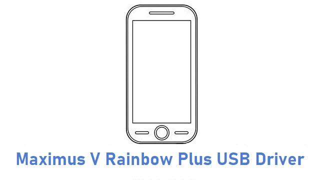 Maximus V Rainbow Plus USB Driver