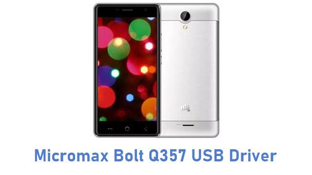 Micromax Bolt Q357 USB Driver