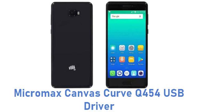 Micromax Canvas Curve Q454 USB Driver