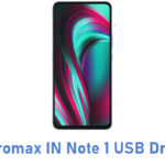 Micromax IN Note 1 USB Driver