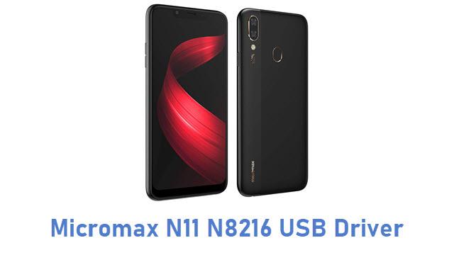Micromax N11 N8216 USB Driver