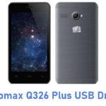 Micromax Q326 Plus USB Driver