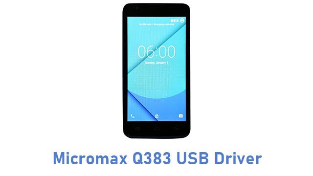 Micromax Q383 USB Driver