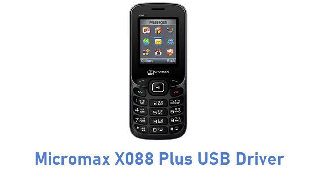 Micromax X088 Plus USB Driver