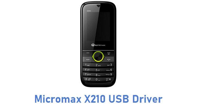 Micromax X210 USB Driver