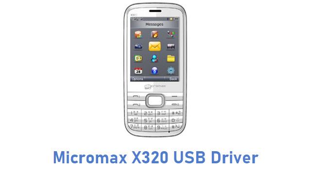 Micromax X320 USB Driver