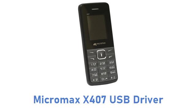 Micromax X407 USB Driver