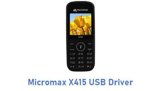 Micromax X415 USB Driver