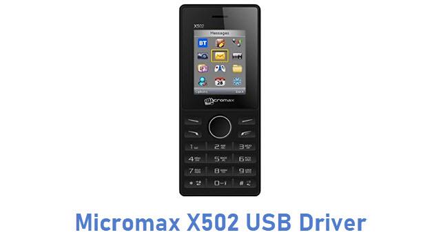 Micromax X502 USB Driver