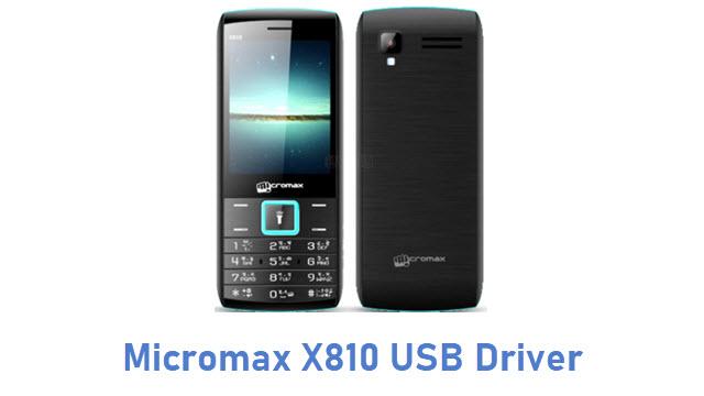 Micromax X810 USB Driver