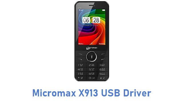 Micromax X913 USB Driver