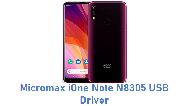 Micromax iOne Note N8305 USB Driver