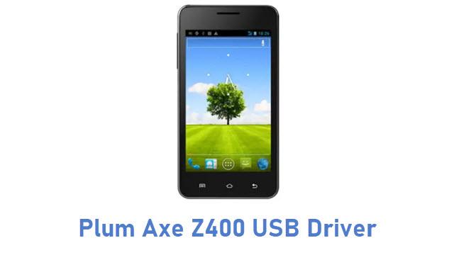Plum Axe Z400 USB Driver