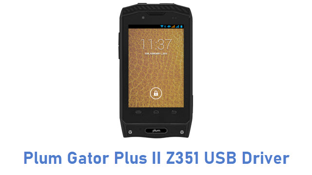 Plum Gator Plus II Z351 USB Driver