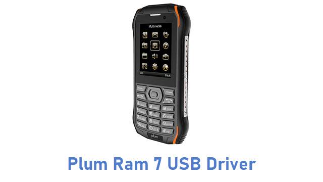 Plum Ram 7 USB Driver