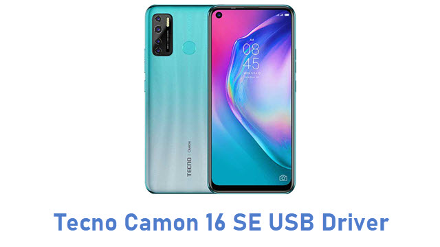 Tecno Camon 16 SE USB Driver