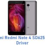 Xiaomi Redmi Note 4 SD625 USB Driver