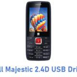 iBall Majestic 2.4D USB Driver