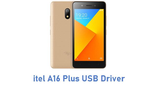 itel A16 Plus USB Driver