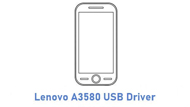 Lenovo A3580 USB Driver