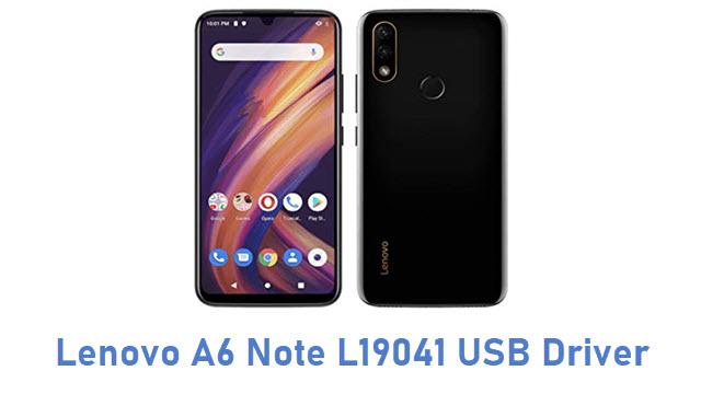 Lenovo A6 Note L19041 USB Driver