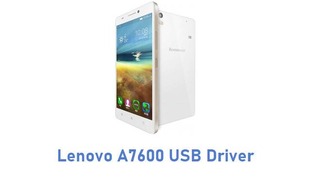 Lenovo A7600 USB Driver