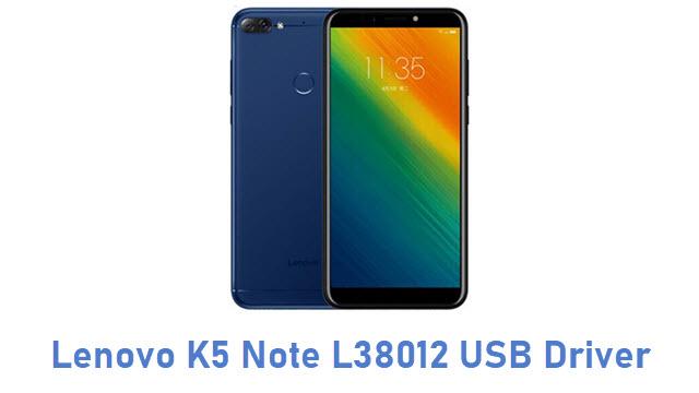 Lenovo K5 Note L38012 USB Driver