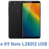 Lenovo K9 Note L38012 USB Driver