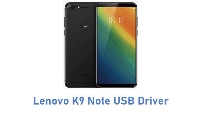 Lenovo K9 Note USB Driver