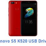 Lenovo S5 K520 USB Driver